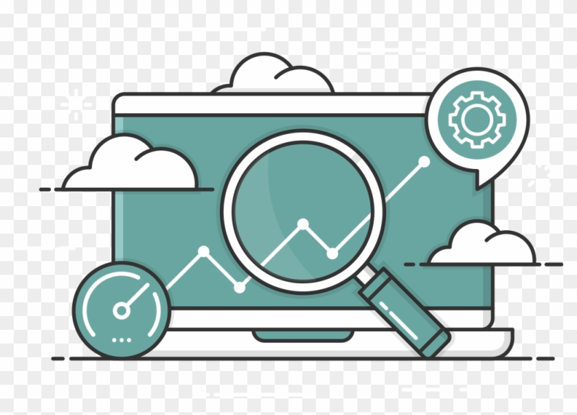 Laptop Icon - Search Engine Optimization Clipart #3810494
