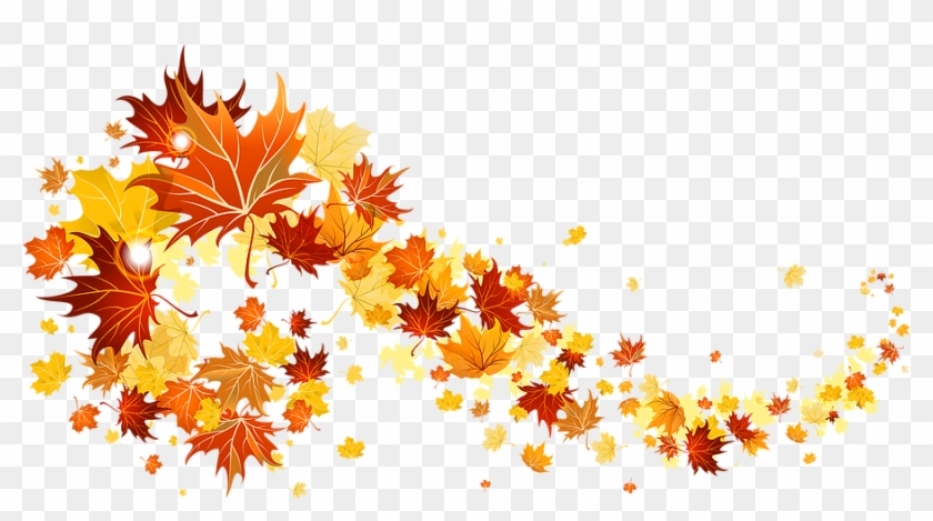 Fall Leaves Transparent Picture - Fall Leaves Transparent Gif Clipart #3813687