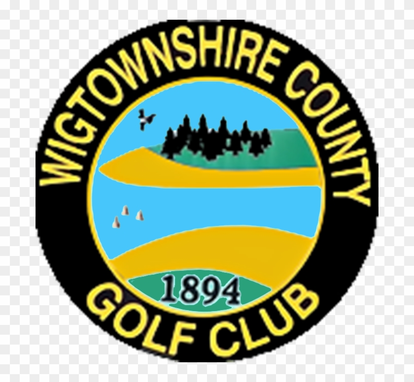 Wigtownshire County Golf Club - Circle Clipart #3813891