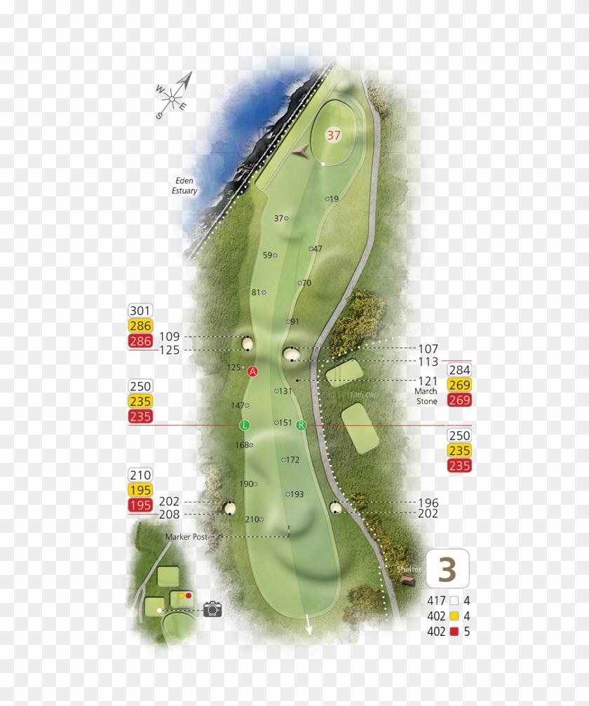 Hole3 - Golf Course Clipart #3815013