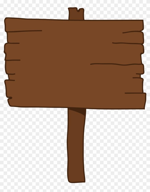 Cartoon, Sign, Animation, Shoulder, Brown Png Image - Cartoon Wood Sign Png Clipart #3815183