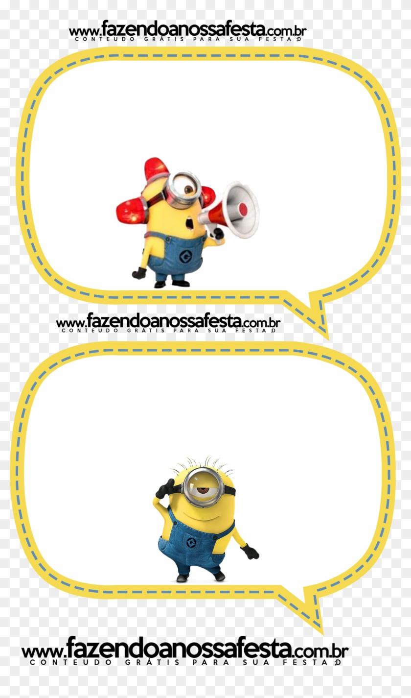 Plaquinhas De Aniversario Dos Minions Png Download Minions