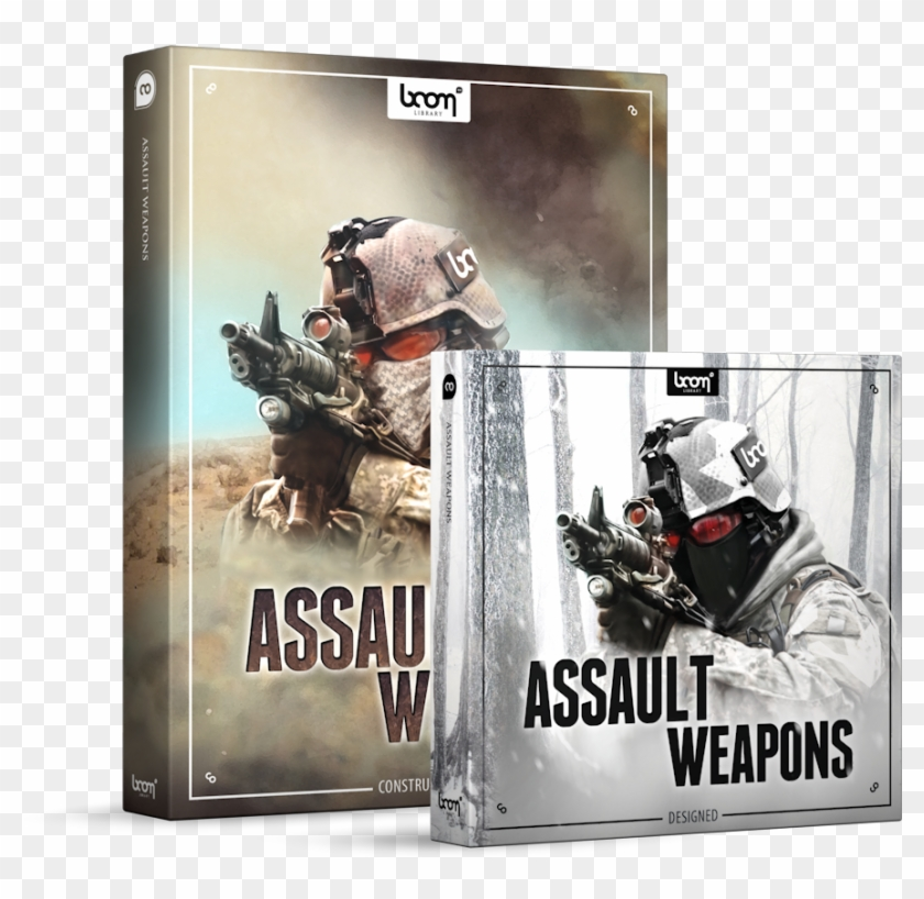Assault Weapons Sound Effects Library Product Box - Boom Library Assault Weapons Bundle Clipart #3821916