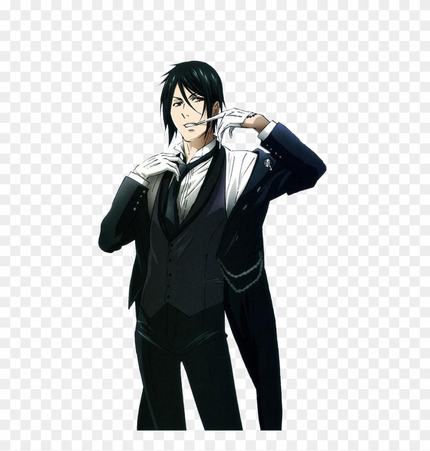 Undefined Black Butler Sebastian Full Clipart (#3829474