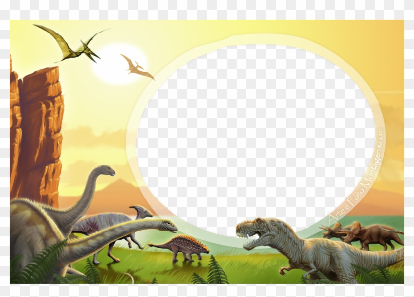 Molduras Para Fotos Gratisdinossauros Etiqueta Escolar