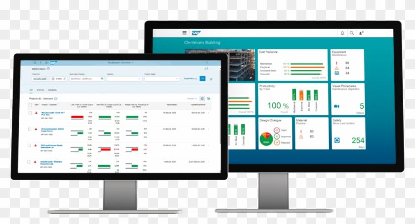 Image Of Sap Commercial Project Management And Sap - Building Management Software Clipart #3832154