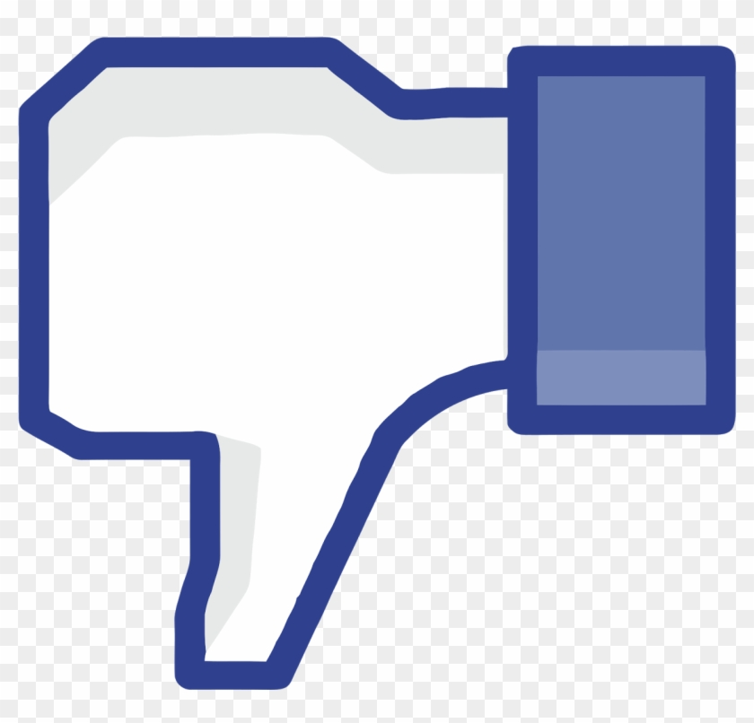 Facebook Like Png Transparent Likepng Images - Facebook Thumbs Down No Background Clipart #3833099