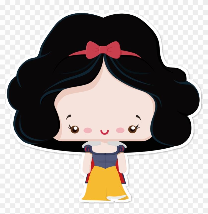Adesivo Branca De Neve Baby Princess De Mathna Snow White And