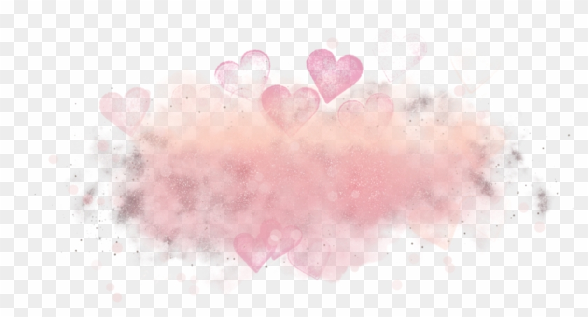 #freetoedit #overlay #watercolor #colorful #love #hearts - Heart Clipart #3839824