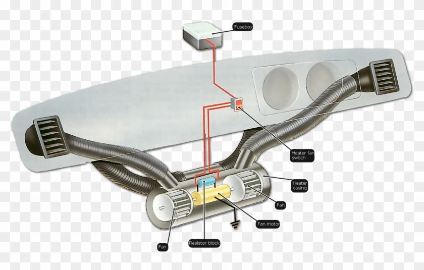 How To Fix A Car Heater - Suzuki Mehran Wiring Diagram Pdf Clipart  (#3840276) - PikPngPikPng