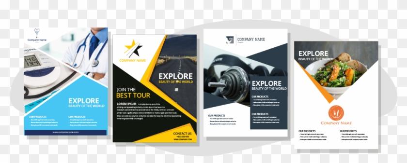 Flyer Design - Web Development Flyer Design Clipart #3840692