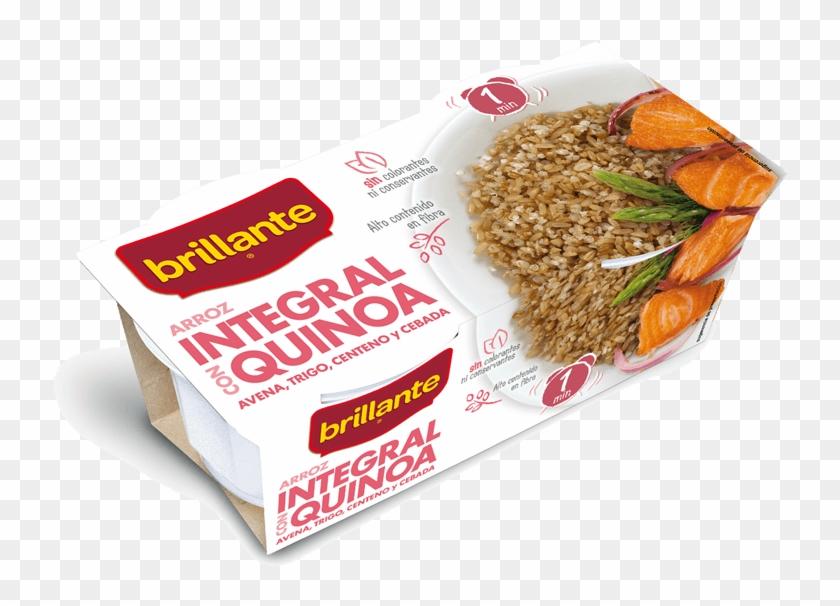 Integral Con Quinoa - Arroz Integral Con Quinoa Brillante Clipart #3841389