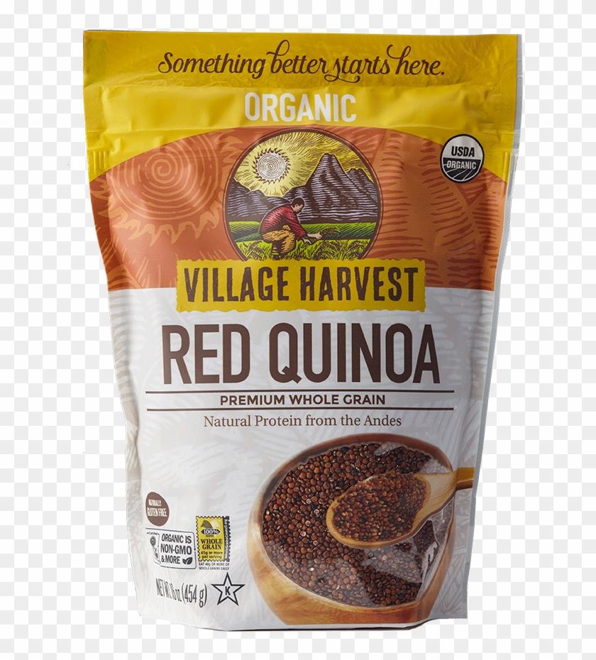 Organic Red Quinoa - Village Harvest Red Quinoa Clipart #3841749