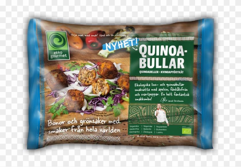 Bild På Quinoabullarförpackning - Convenience Food Clipart #3842331