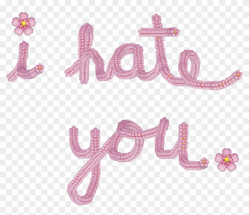 """""""bloom With The Flowers"""" Spell - Hate U Emoji Clipart #3844300"""