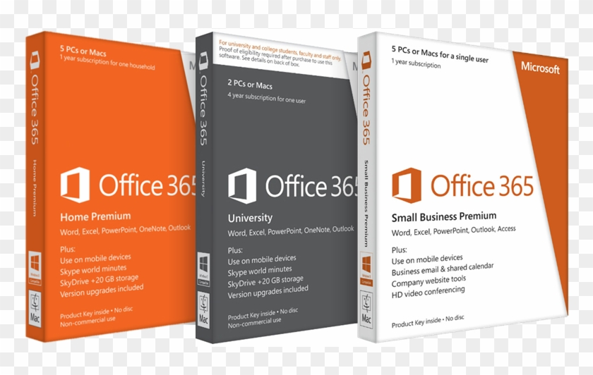 The Concept - Ms Office 365 Box Clipart #3847711