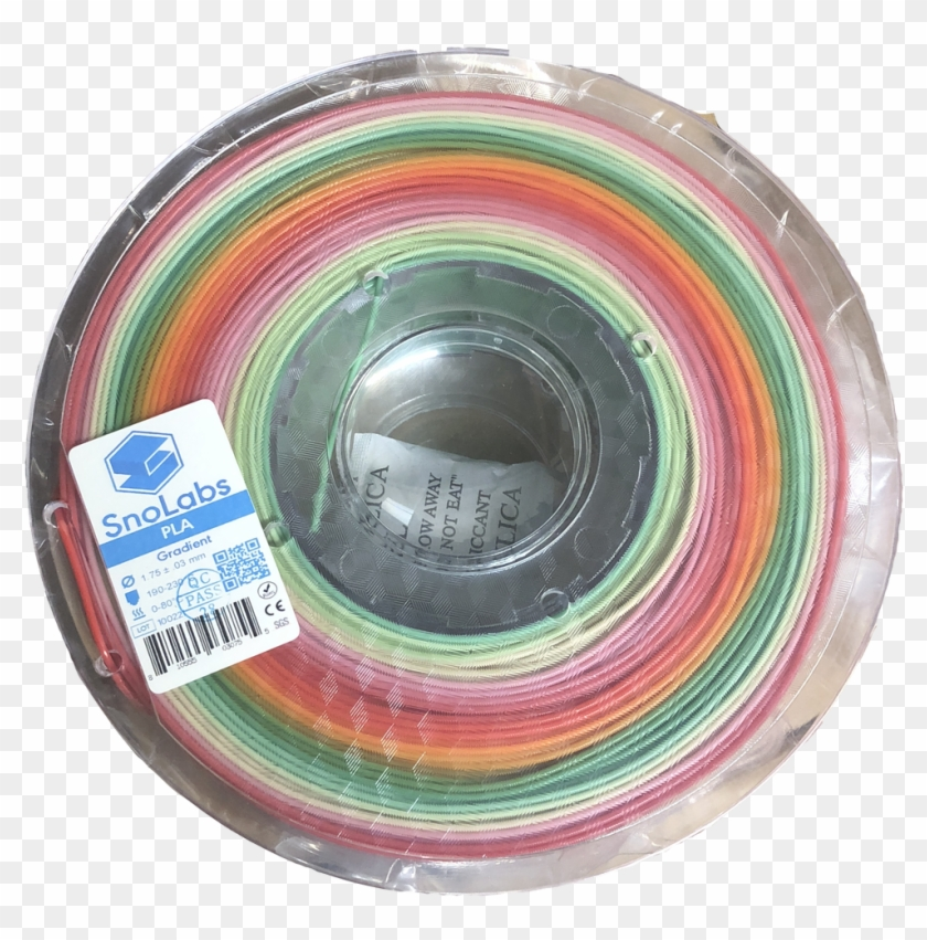 1 Kg Roll Of Gradient Pla - Circle Clipart #3848263