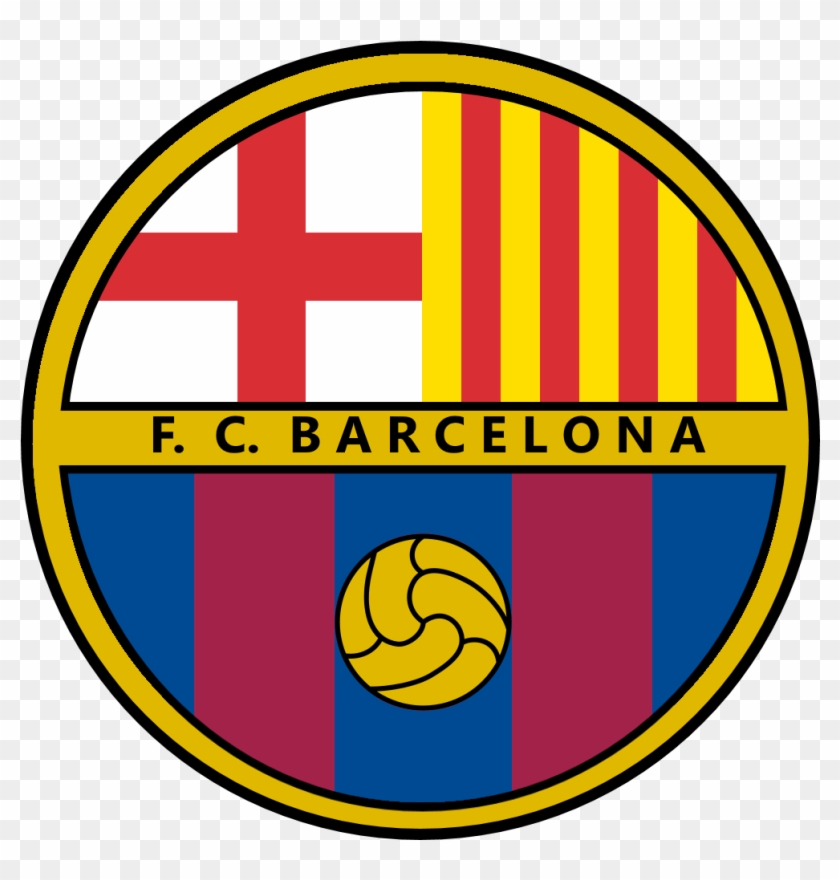 Fc Barcelona Logo Redesign By U Mihai592003 Fc Barcelona Clipart 3851553 Pikpng