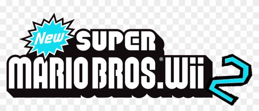 New Super Mario Bros Wii New Super Mario Bros Wii Logo Clipart