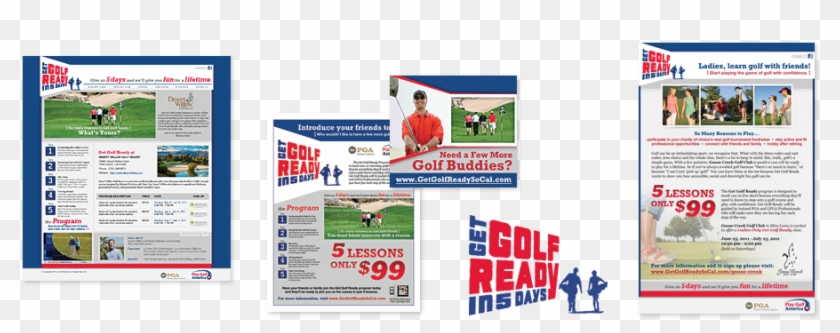 Take Control Of Your Tee Sheet And Your Brand - Get Golf Ready In 5 Clipart #3875089
