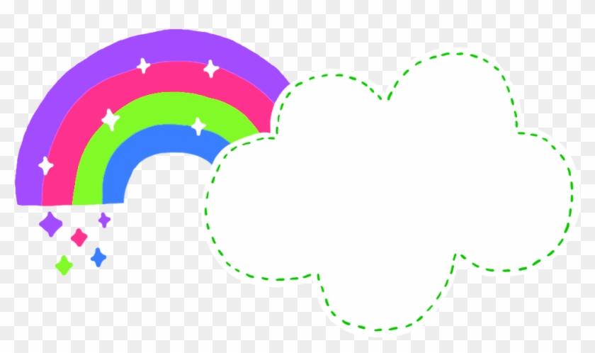 #rainbow #cloud #rainbowcloud #cute #freetoedit - Graphic Design Clipart #3877441