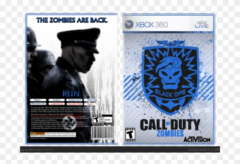 Call Of Duty - Call Of Duty Black Ops Clipart #3878318