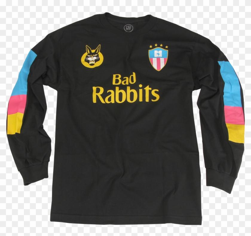 Mimi Soccer Jersey Black Long Sleeve $30 - Long-sleeved T-shirt Clipart #3878838