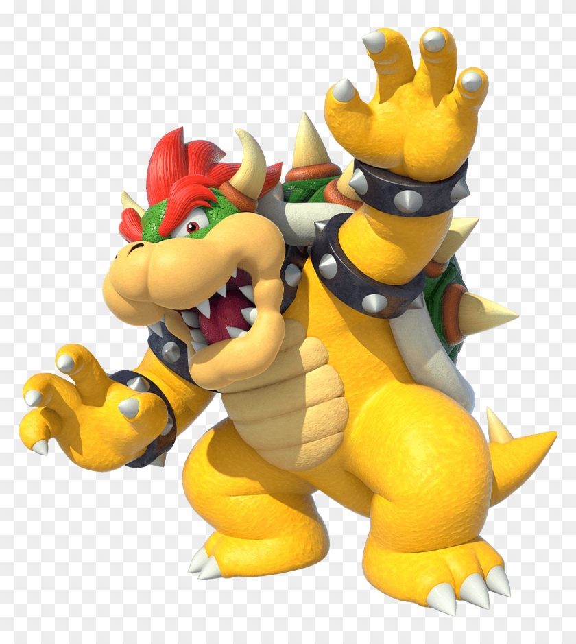 Characters Super Mario Party Bowser Clipart 3883665