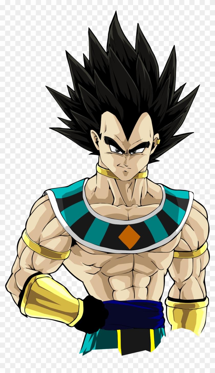 Super Saiyan Vegeta - Dbz Vegeta Hakaishin Clipart #3885622