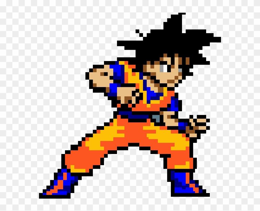 Pixilart Super Saiyan Blue By Goku Black Pixel Art Dragon