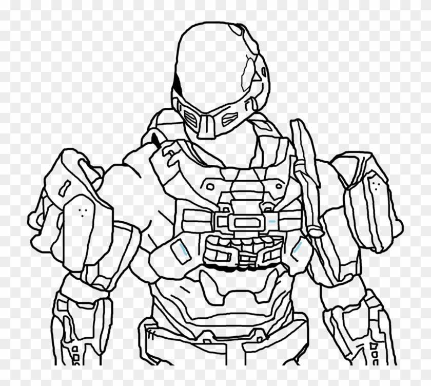 Print These Halo Odst Coloring Pages