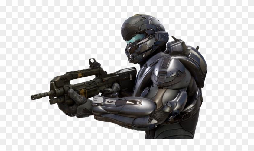 Spartan Locke, Halo 5, Halo - Halo 5 Locke Render Clipart #3886415