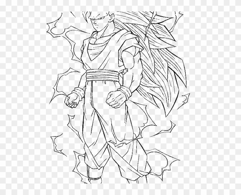 Vegeta Super Saiyan 3 Coloring Pages Dragon Ball Full - Dragon Ball Z Vegeta Coloring Pages Clipart #3888736
