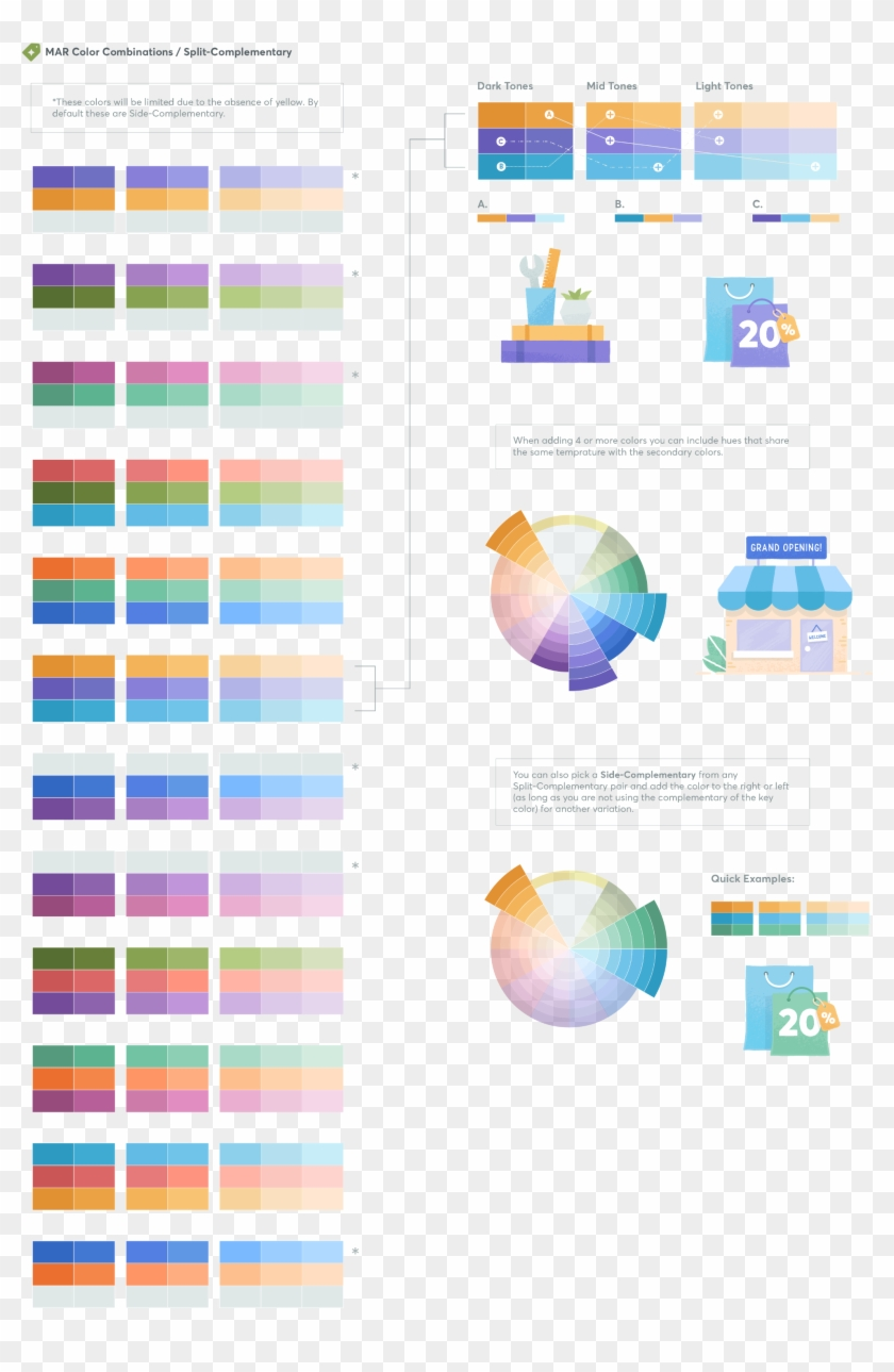 As Mentioned Earlier, We Want To Use The Entire Spectrum - Graphic Design Clipart #3895095