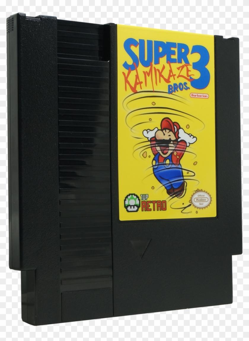 Super Kamikaze Bros 3 Nes Super Kaizo Mario Kamikaze Cartoon