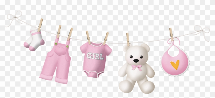 Imagenes Para Baby Shower De Niña Png - Baby Girl Clothes Png Clipart #390343