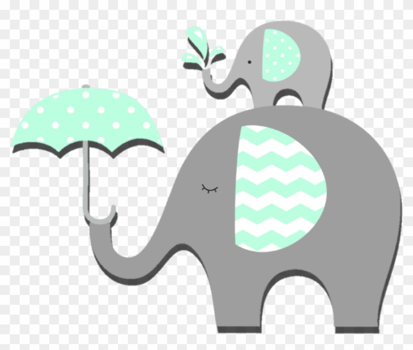Free Png Download Baby Shower Elephant Png Images Background - Indian Elephant, Transparent Png #390561