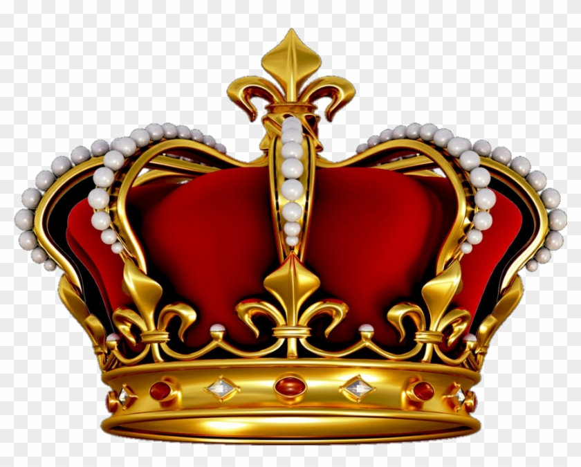 Crown King Queen Kingcrown - Red Crown King Clipart #390564
