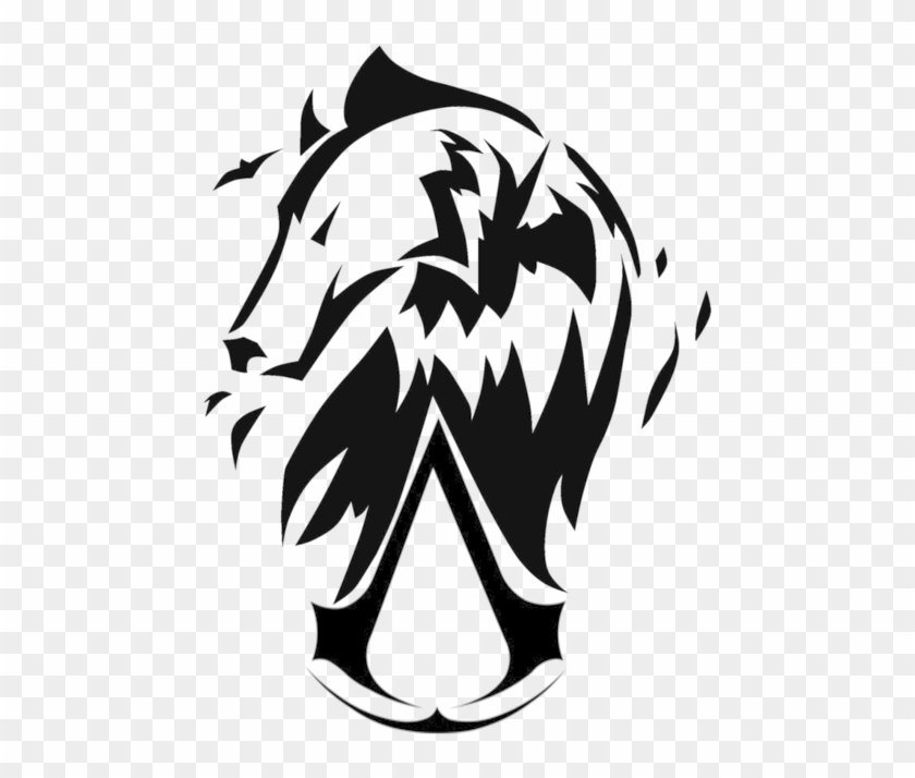 Assassins Creed Unity Clipart Wolf Symbol Assassin S Creed