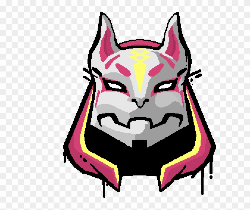 Pictures Of Fortnite Drawings Pixilart Spray Drawing Fortnite Drift Mask Drawing Clipart 3902672 Pikpng