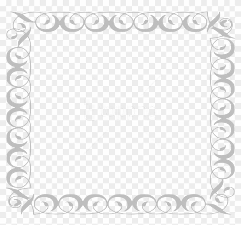 Free Png Gray Border Frame Png Pic Png - Border Clip Art Transparent Png #3909331