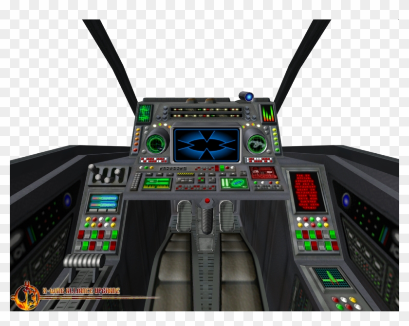 X Wing Cockpit X Wing Cockpit Png Clipart 3911254 Pikpng