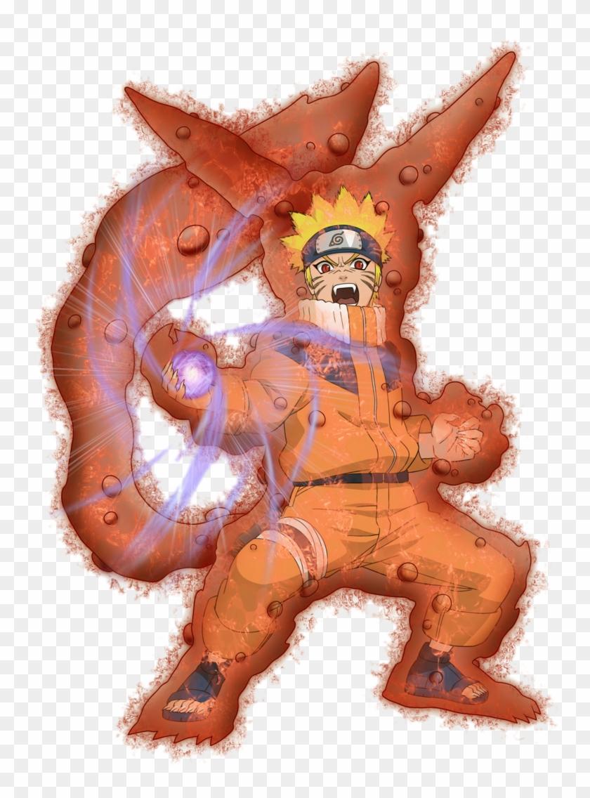 0 Tails Naruto narutoxns naruto 1 tail fox rasengan renderxsaiyan