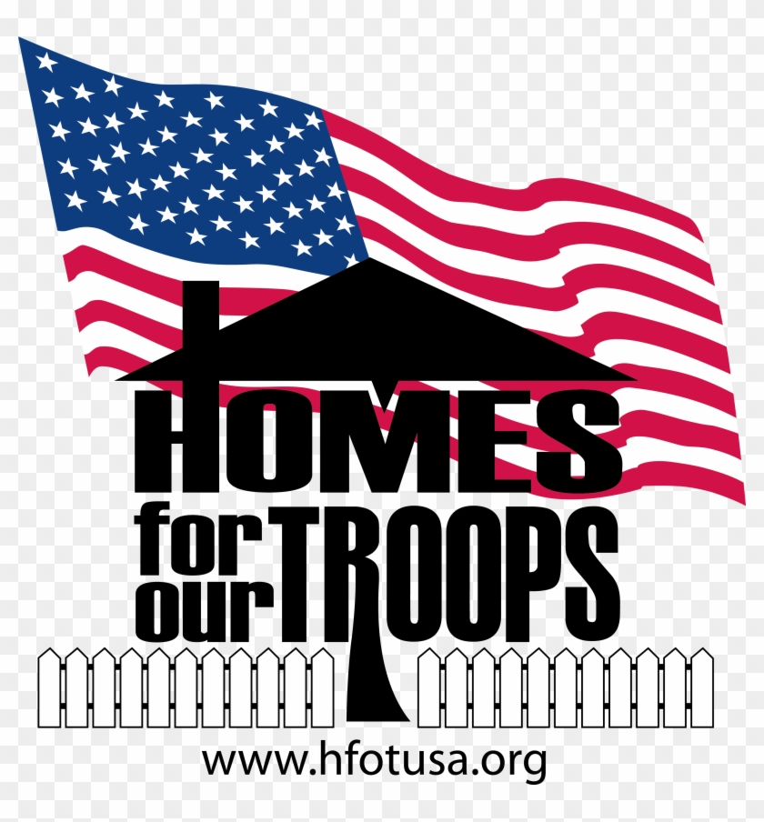 Homes For Our Troops Http - Homes For Troops Logo Clipart #3912920
