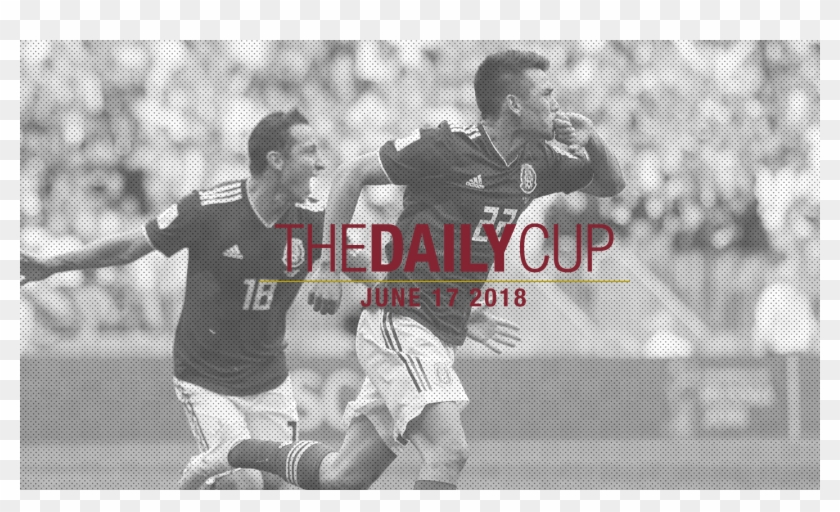 The Daily Cup - Mexico 1 0 Germany Clipart #3920262