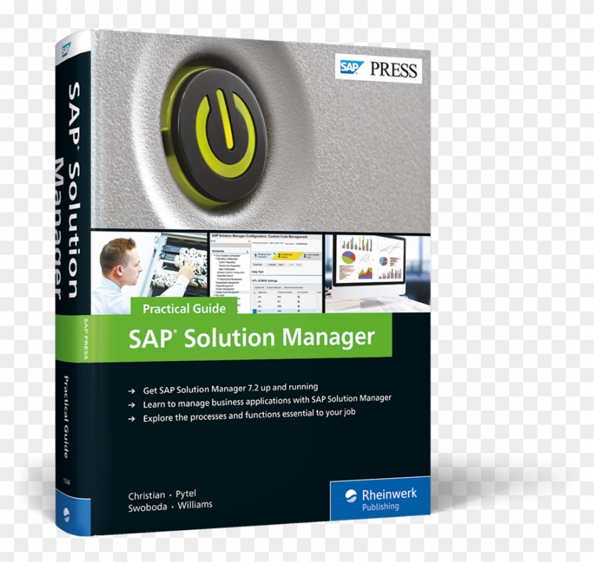 Cover Of Sap Solution Manager Practical Guide - Sap Solution Manager: Practical Guide Clipart #3930715