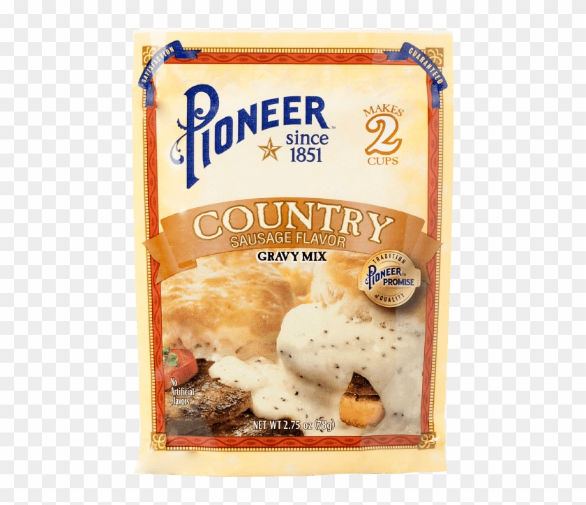 Country Sausage Gravy Mix - Pioneer Gravy Packet Clipart #3933261