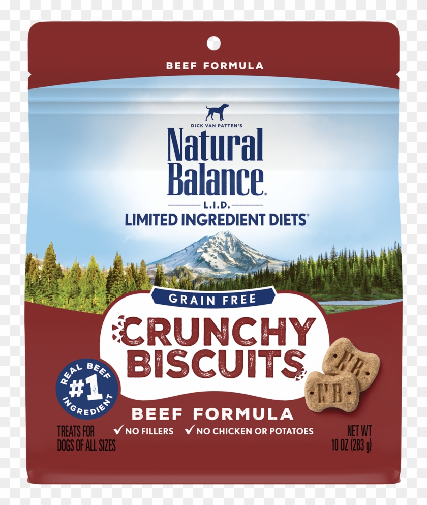 Limited Ingredient Diets® Crunchy Biscuits Beef Formula - Natural Balance Dog Food Clipart #3934908