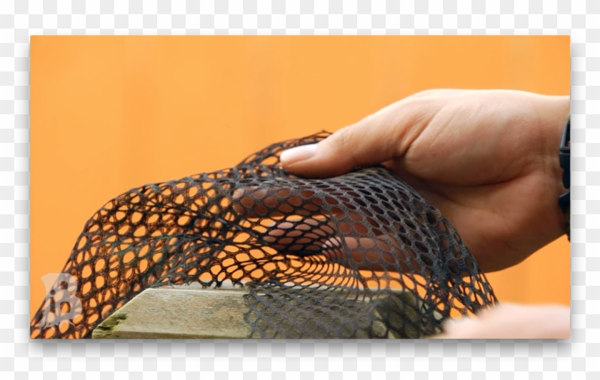This Is From A Camouflage Net That I Used For My Ghillie - Close-up Clipart #3937043