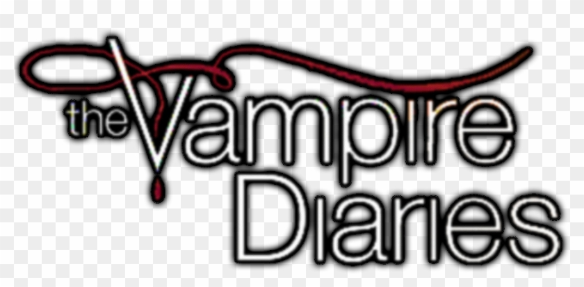 The Vampire Diaries - Logo The Vampire Diaries Png Clipart